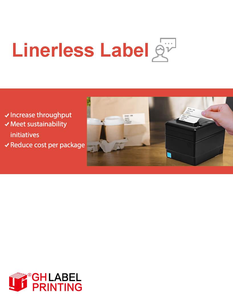 linerless label